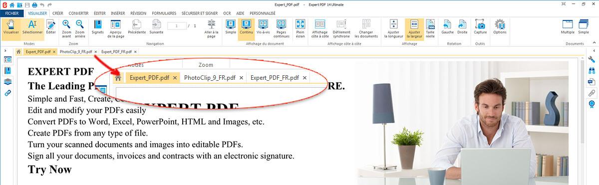 OPEN MULTIPLE PDF DOCUMENTS