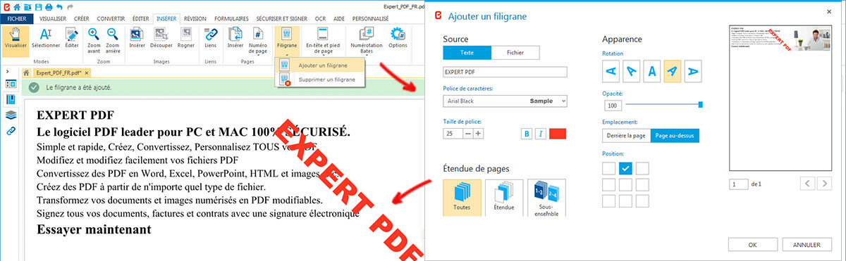 PROTECT PDF FILES AGAINST COPYRIGHT INFRINGEMENT: ADD A WATERMARK
