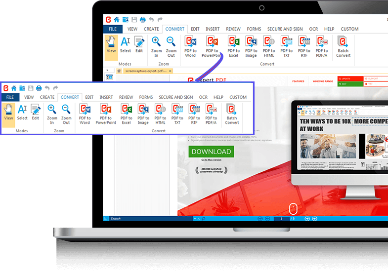 THE EASY WAY TO CONVERT AND CREATE PDF FILES