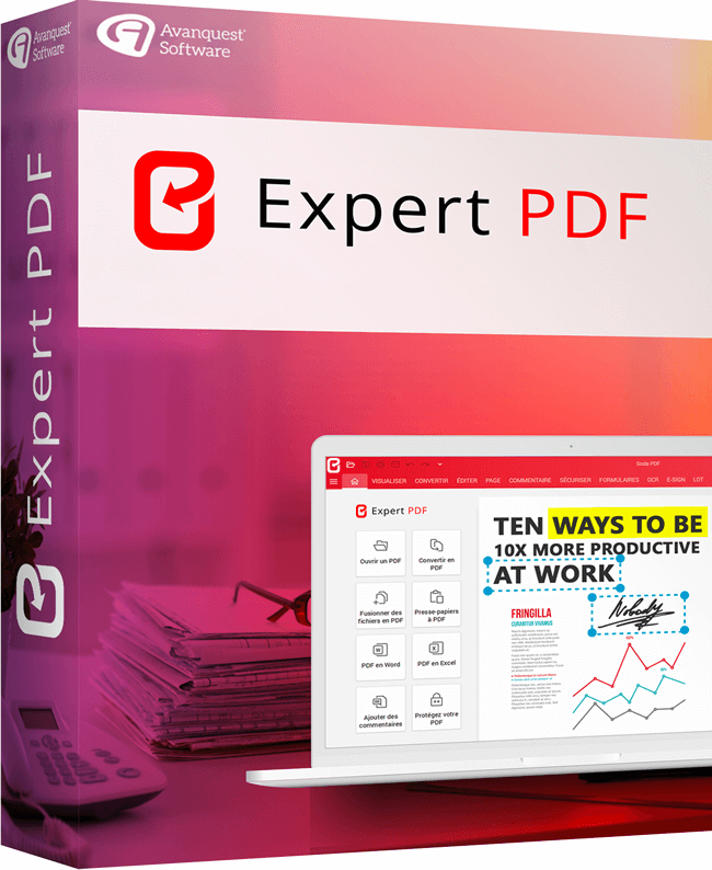 EXPERT PDF: THE PDF SOFTWARE THAT HANDLES ALL YOUR NEEDS