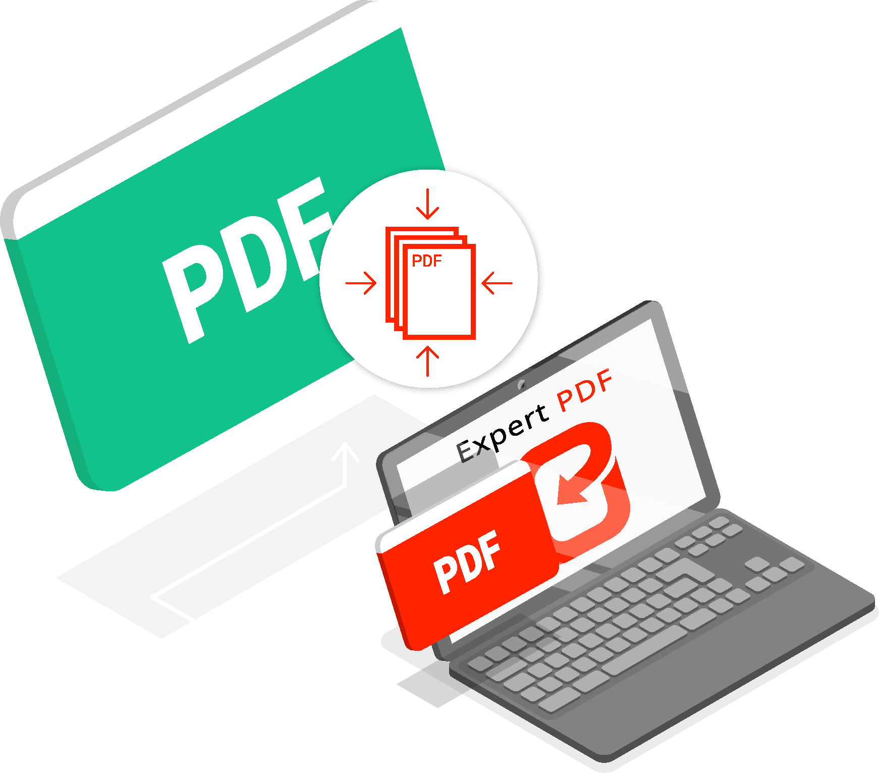 HOW TO COMPRESS A PDF FILE USING EXPERT PDF