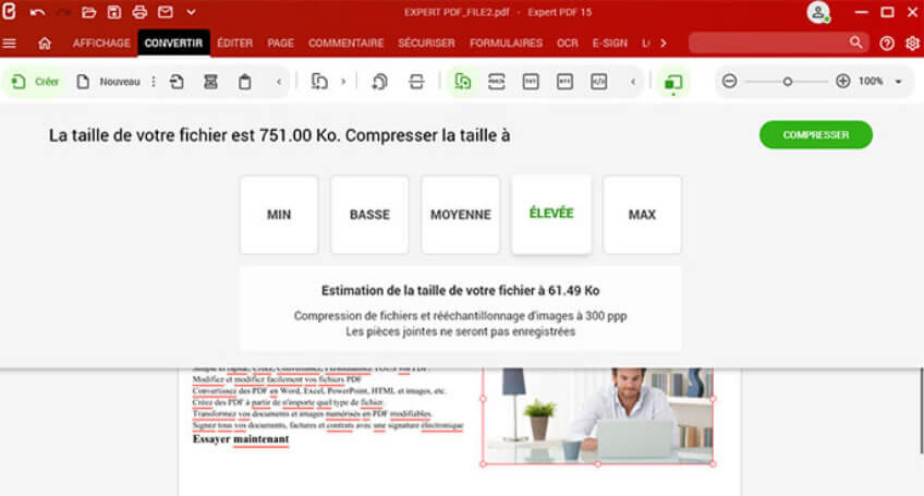 HOW TO COMPRESS A PDF FILE