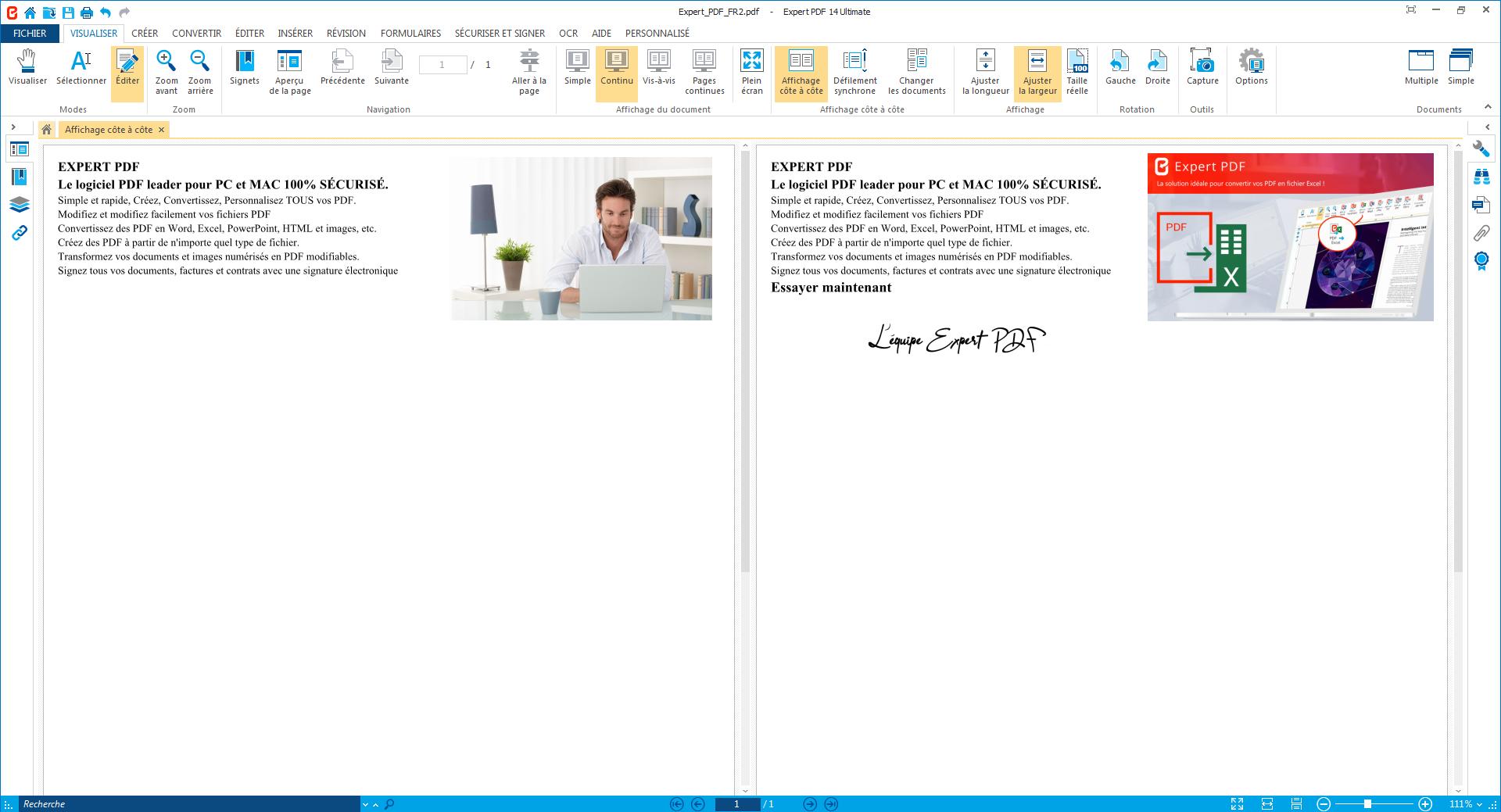Travaillez sur plusieurs PDF à la fois en utilisant le...