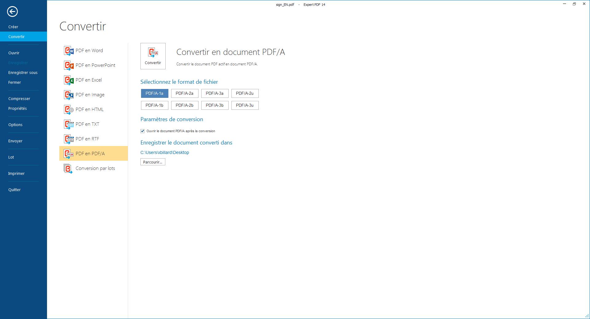 La conversion PDF/A et la reconnaissance optique de...