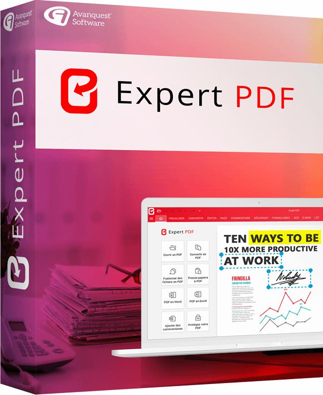 Expert PDF, Le logiciel PDF qui répond à tous vos besoins