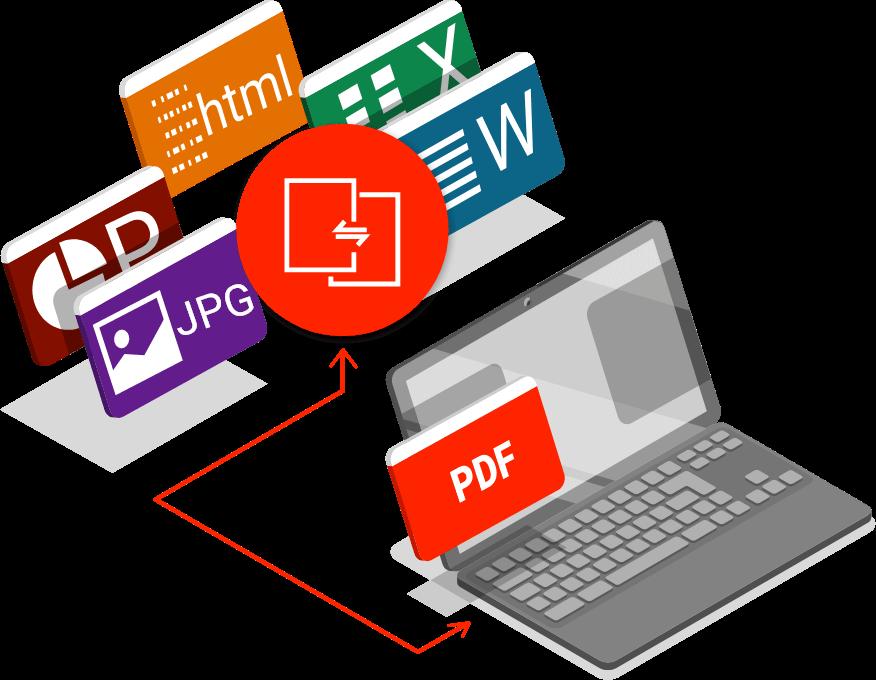 LA Conversion PDF vers office
