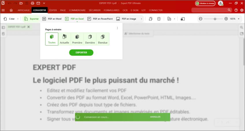 Pourquoi convertir un fichier PDF en fichier EXCEL (xlsx) ?
