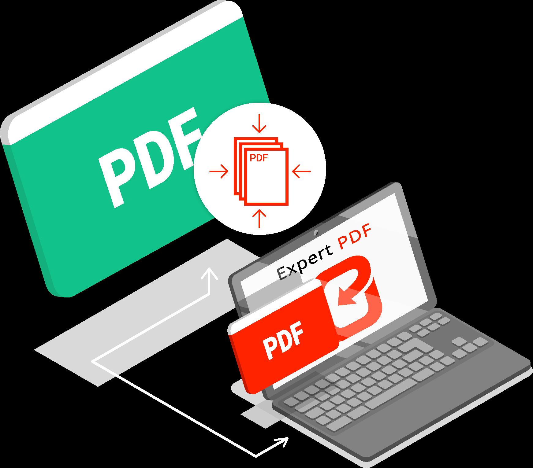 COMMENT COMPRESSER UN FICHIER PDF GRÂCE À EXPERT PDF ?