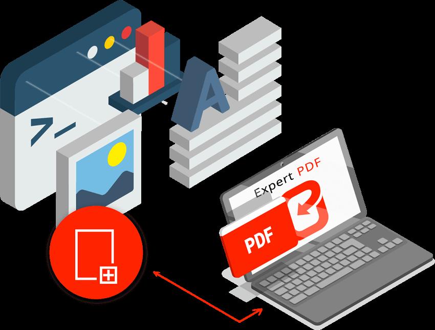 Créer un PDF à partir de Word, Excel, images et plus de 200 autres formats