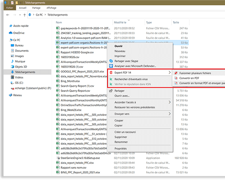 Umwandlung von Dateien per einfachem Rechtsklick, für...