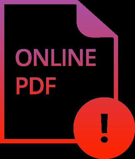 WAS SIND DIE RISIKEN BEI DER ONLINE-ERSTELLUNG EINES PDFS?