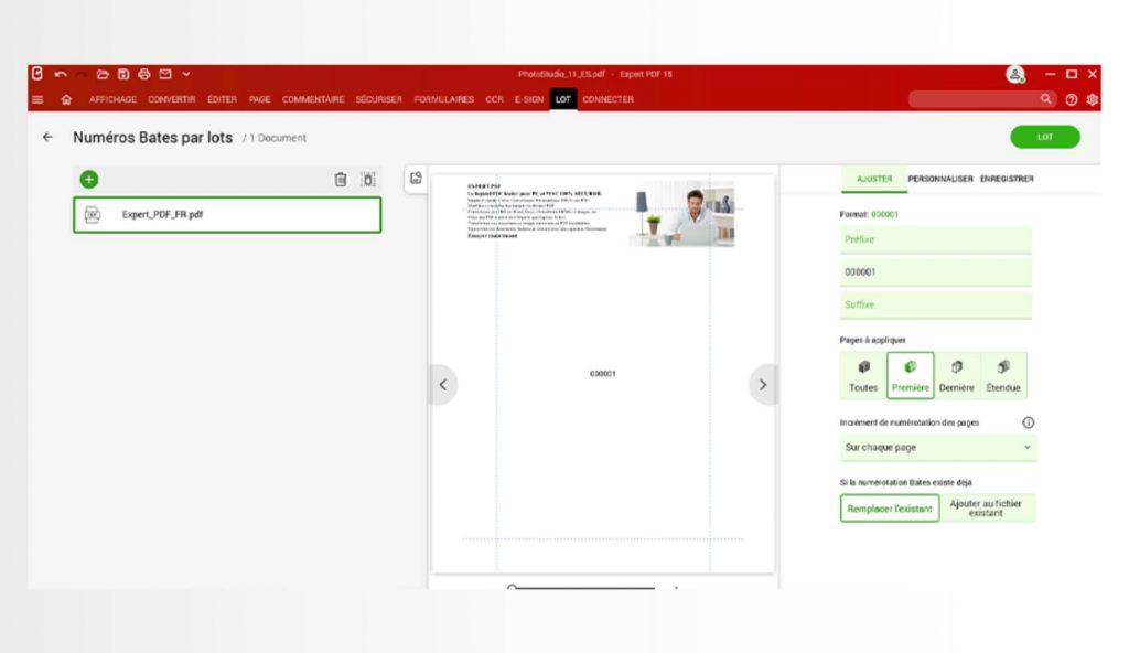 Semplifica l'identificazione e la ricerca di contenuti con il metodo di indicizzazione dei documenti.Ampiamente utilizzata in determinati settori professionali (giuridico, contabilità ecc.), la numerazione permette di annotare tutti i PDF in modo che ogni documento diventi unico e facile da ritrovare.